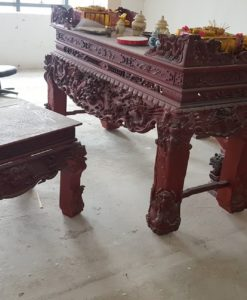 bàn thờ gỗ hương cũ