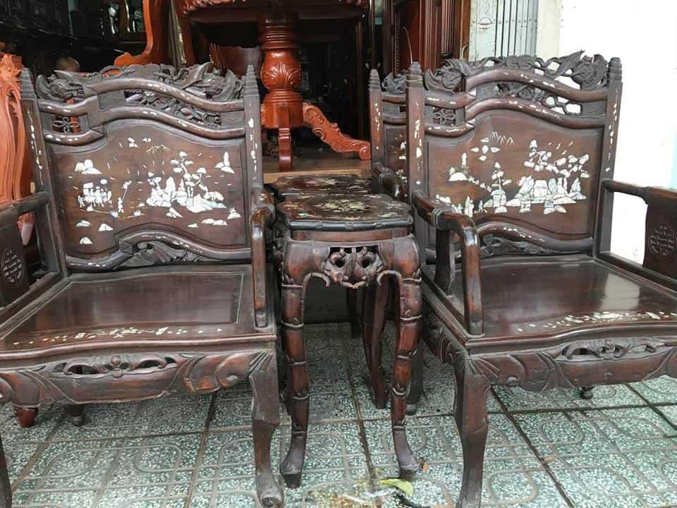 Mua đồ gỗ cũ