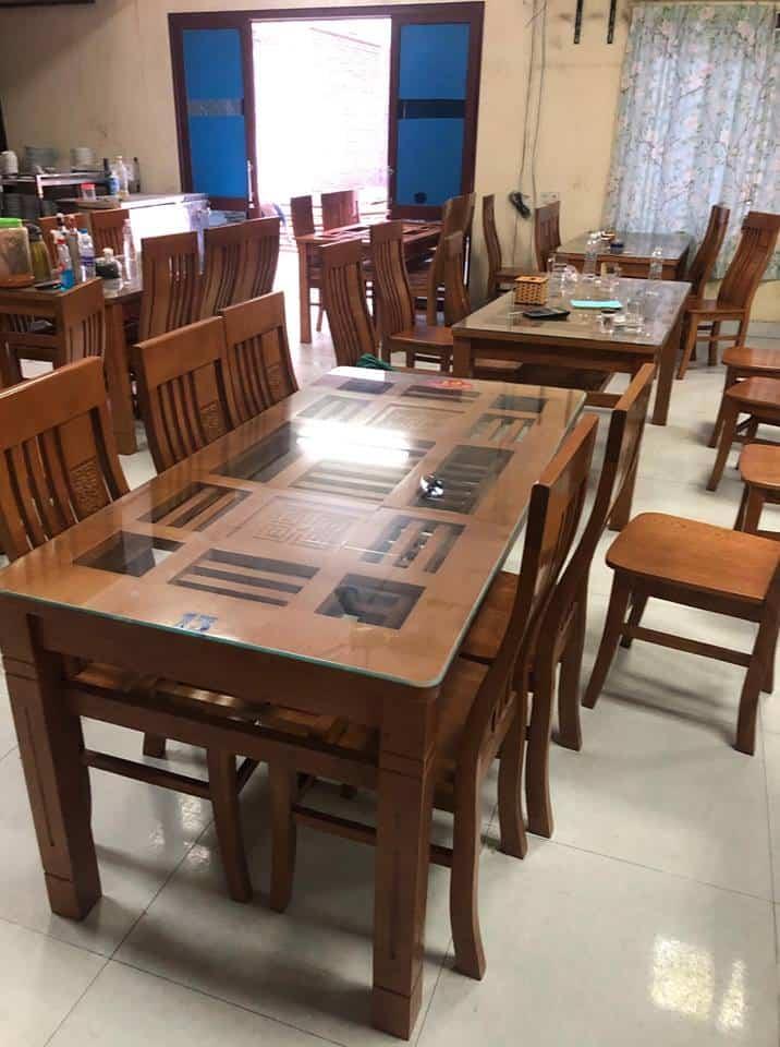 thanh lý bàn ghế quán ăn tại hà nội