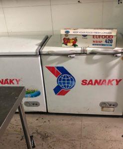 tủ đông cũ thanh lý