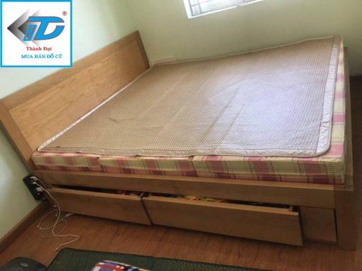 giường gỗ sồi, giường thông minh